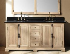 James Martin Genna (double) Natural Oak Transitional Bathroom Vanity With Top Options Master Bath Vanity, Best Bathroom Vanities, Bathroom Vanity Cabinets, Wood Vanity, Vanity Sink, Bathroom Furniture, Master Bathroom, Wood Bathroom, Bathroom Ideas