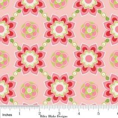 The Quilted Fish Sugar & Spice Sugar Floral in Pink
