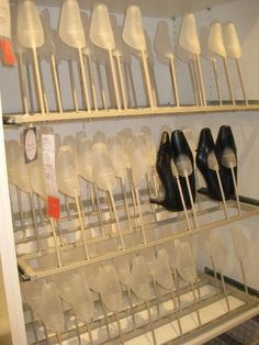Ikea shoe storage idea gorgeous!