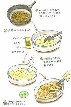 Recipe Drawing, Cake Recipes, Dessert Recipes, Food Poster Design, Food Sketch, Good Food, Yummy Food, Food Illustrations, Food Menu
