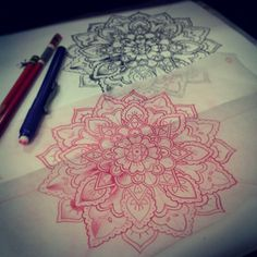 Mandala tattoo design