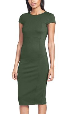 Berydress Women's Over Knee Length Classicial Bodycon Pencil Dress *** Check this awesome image  : Women clothing