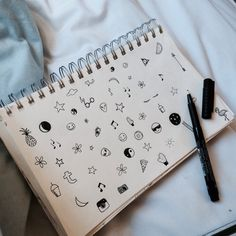 I NEED TO DO THIS MINI DOODLE THING! Except I'm not good at art