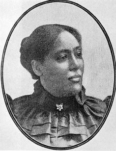 """Margaret Murray Washington (1865-1925) born March 9, 1865, was one of ten children born to sharecroppers. Her father was of Irish descent and her mother was African American. Murray attended Fisk University for eight years and graduated in 1889. The following year she became """"Lady Principal"""" at Tuskegee Institute where she met Booker T. Washington. In 1892 she married Washington, becoming his third wife."""