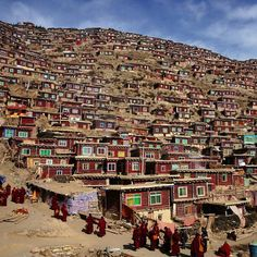 These slums in the Himalayas were posted to Twitter by @bhayat2 on May 9, 2012.