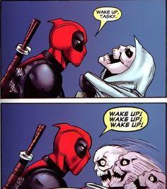 Deadpool and Taskmaster