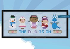 Mini People - Doc McStuffins cross stitch pattern by cloudsfactory.deviantart.com on @DeviantArt