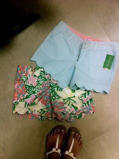 On the second day of Christmas my true love gave to me- two printed shorts!