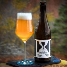 """@hillfarmstead """"On Weds. Nov. 4, during normal retail hours, we're excited to release Civil Disobedience 15. A blend composed of beers from a diversity of barrels ranging…"""""""