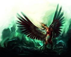 On the Wings of the Storm by =Elsouille on deviantART