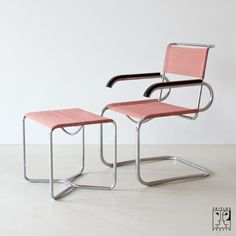 Marcel Breuer chair and & stool