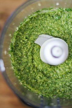 Incorporate the olive oil gradually.