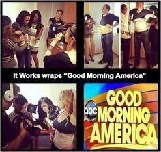 ItWorks wraps good morning America!   https://skinnywrapinmiami.myitworks.com/Home