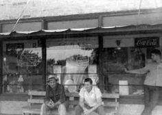 OutsideDrugStore_June1954