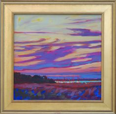 Hobcaw Marina, Mount Pleasant, South Carolina. Painting by Betty Anglin Smith, Anglin Smith Fine Art (http://anglinsmith.com/)