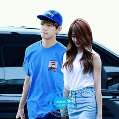 Just For Fun, Couple Goals, Taehyung, Ships, Kpop, Guys, Couples, Collection, Blue Nails