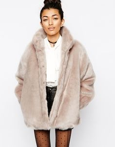 Faux-fur coats are so on trend that you can't go wrong with one for a present!