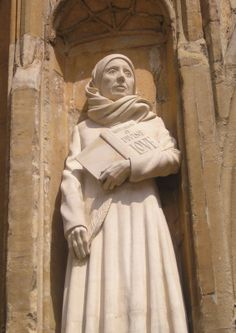 Julian of Norwich (1342-1416) Anchoress (nun), Christian mystic, and first woman to be published in the English language