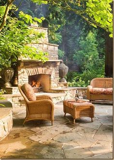 Back Yards on Pinterest Covered Patios Outdoor
