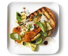 Sommergemüse mit Parmesan - Rezept - Saisonküche