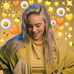 Hplyrikz: this will make you feel better billie eilish, heart meme, kawaii, Billie Eilish, Heart Meme, Album Cover, Cute Love Memes, Reaction Pictures, Photo Instagram, Divas, Beautiful People, Kawaii