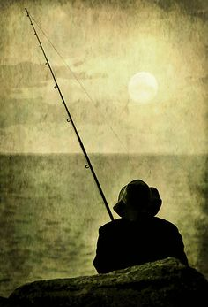 The Fisherman by Trish Woodford