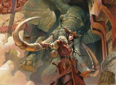 madcat-world:   Summoner's Bond - Jesper Ejsing - my collection of art stuff