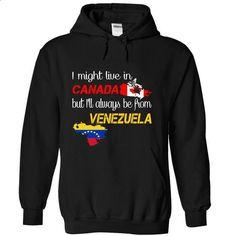 Venezuela-Canada - #shirt designer #novelty t shirts. GET YOURS => https://www.sunfrog.com/LifeStyle/Venezuela-Canada-xtirm-Black-Hoodie.html?60505