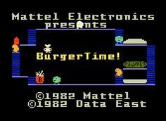Intellivision - BurgerTime