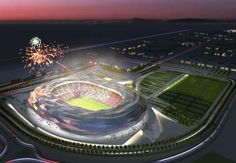 The design for the Qatar Foundation Stadium, which will host the2022 World Cup, has been revealed!