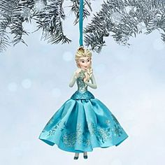disney elsa sketchbook ornament frozen disney storeelsa sketchbook ornament frozen in her - Elsa Christmas Decoration