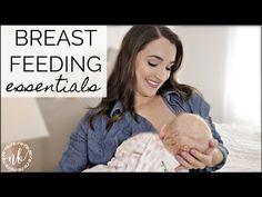 BREASTFEEDING MUST-HAVES + ESSENTIALS   Tips For Breastfeeding   Natalie Bennett - YouTube