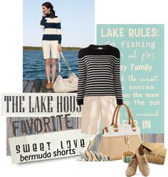 """""""Bermuda Shorts"""" by lacas on Polyvore"""