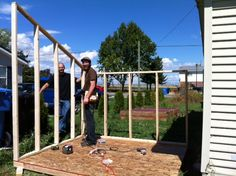 The Joe and Jill Chronicles: Building a Tool Shed