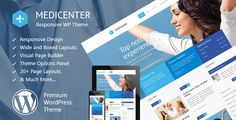 We proudly present Medicenter WordPress Theme, dedicated to medical and health care institutions, clinics and hospitals, doctors and everyone else involved in health services. Medicenter is the most popular and selling medical WordPress Theme. Icon Design, Web Design, Graphic Design, Website Design Inspiration, Creative Inspiration, E Commerce, Theme Forest, Best Templates, Joomla Templates