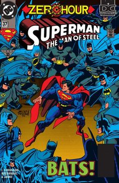 Superman: The Man of Steel #37 by Jon Bogdanove. And the double sided promotional poster.
