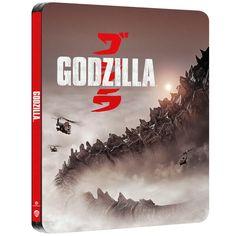 Godzilla 4K Ultra HD Zavvi Exclusive Steelbook (Includes 2D Blu-ray) Blu-ray - Zavvi UK