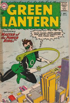 Green Lantern No. 22 1963 by TheSamAntics on Etsy