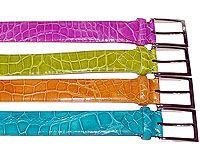 Fennix Alligator Belt # 2800 at AlligatorWorld.com - Exotic Skin Shoes