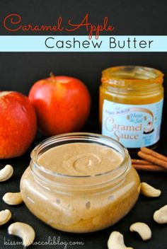 Caramel Apple Cashew Butter