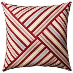 Target : Home Stripe Oversized Toss Pillow - Red : Image Zoom