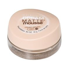 Maybelline Dream Matte Mousse Foundation ($7.59) ❤ liked on Polyvore featuring beauty products, makeup, face makeup, foundation, creamy natural, maybelline foundation, maybelline, mousse foundation, sensitive skin foundation and maybelline face makeup