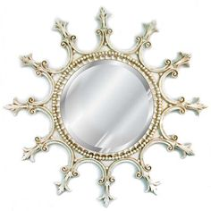 Hickory Manor House Scalloped Mirror - 23W x 23H in. | from hayneedle.com