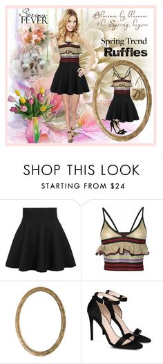 """""""Ruffles"""" by fantasiegirl ❤ liked on Polyvore featuring Sibling, STELLA McCARTNEY and Yves Saint Laurent"""