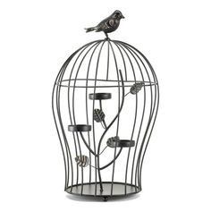 Darling Triple Candle Holder Birdcage - MNM Gifts