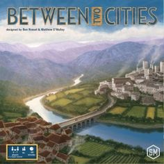 In Between Two Cities you are a world-renowned master city planner who has been asked to redesign two different cities. City Building Game, Building A Deck, The Second City, 2nd City, Sports Games For Kids, Cities, Family Board Games, The End Game, Strategy Games