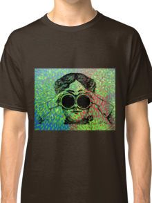 """Wonder World"" - Lady with Binoculars  Classic T-Shirt"