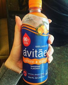 Sure, orange has always stolen the show. But when we wanted to add big flavor to our calorie-free caffeine water, Avitae looked to its smaller, sweeter cousin. Now, the energy of Avitae is bursting with delicious, sugar-free citrus flavor, making it the perfect morning pick-me-up, afternoon keep-me-up or anytime power-up. (@hoggingwithjewelz)