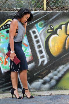 Curvy Fashion, Love Fashion, Girl Fashion, Fashion Looks, Fashion Outfits, Womens Fashion, Style Fashion, Living At Home, Beautiful Black Women