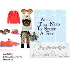 When They Need To Strike A Pose: Fierce Femme, created by goddesswifemom on Polyvore